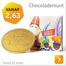 Chocolademunt sinterklaas bestellen