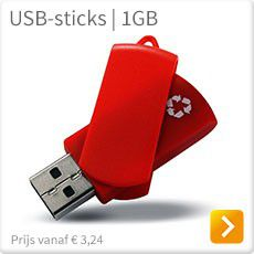 USB sticks van duurzame materialen