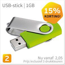 USB stick aanbieding 1GB