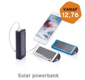 Solar powerbank 2200 mAh