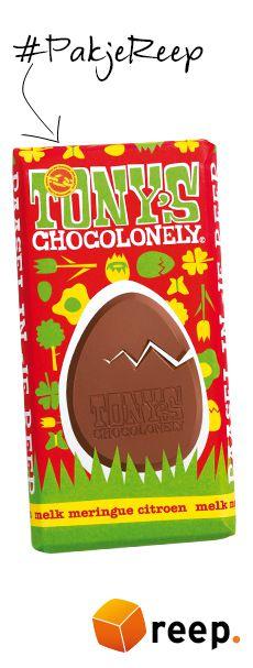 Tony Chocolonely paaschocolade reep