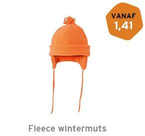 Fleece wintermuts