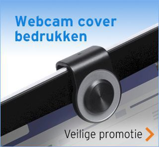 Webcam cover bedrukken