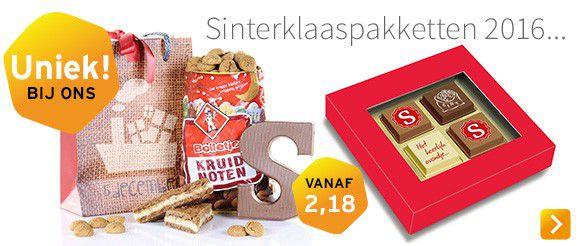 Sinterklaaspakketten bestellen