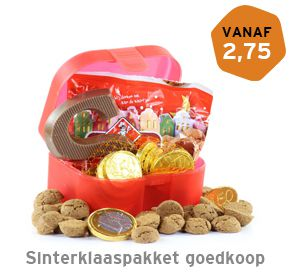 Sinterklaaspakket goedkoop