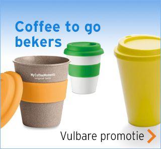 Koffiebekers to go bedrukken