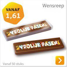Paaschocolade wensreep