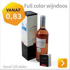 Full color wijndoos bedrukken