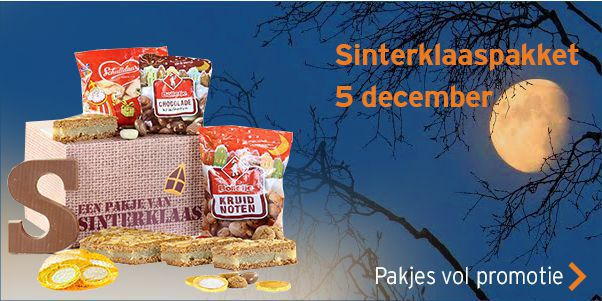 Sinterklaaspakket 5 december