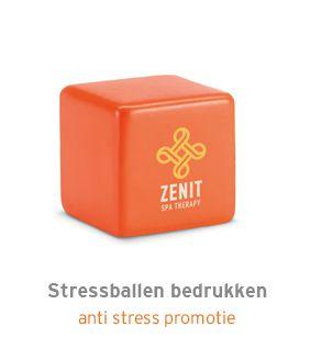 Stressballen bedrukken