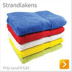 Strandlakens met logo