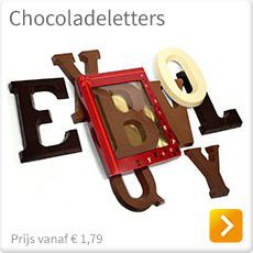 Chocoladeletters Sinterklaas