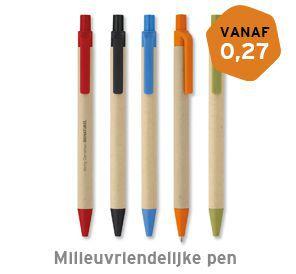 Milieuvriendelijke pen