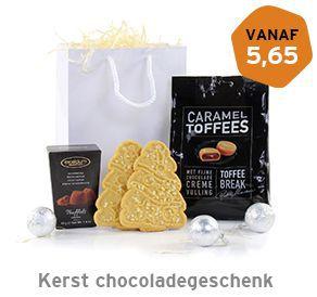 Kerst chocoladegeschenk