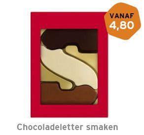 Chocoladeletter smaken 200 gram