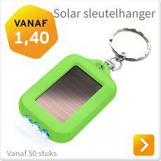 Solar sleutelhanger bedrukken