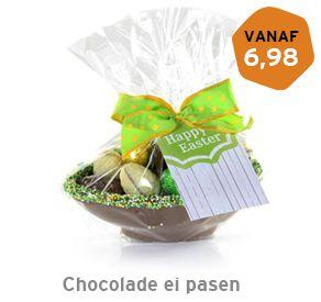 Chocolade ei pasen 250 gram