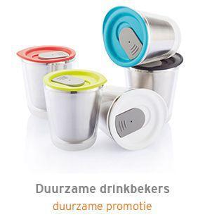 Duurzame drinkbekers