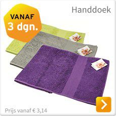 Handdoek snel bestellen