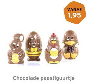 Chocolade paasfiguurtje