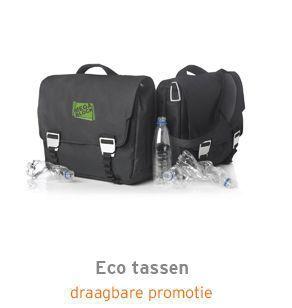 Eco tassen met logo
