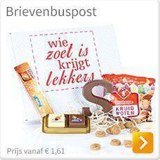 Brievenbuspakketten Sinterklaas