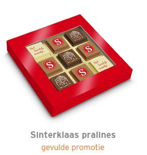 Sinterklaas pralines