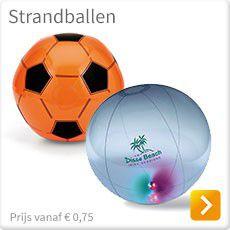 Strandballen bedrukken met logo