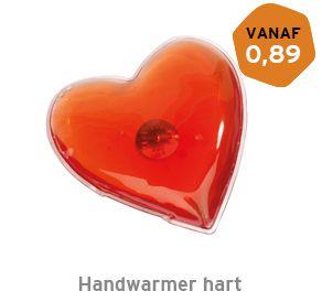Handverwarmer hart bedrukken