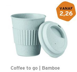 Coffee to go Bamboe beker