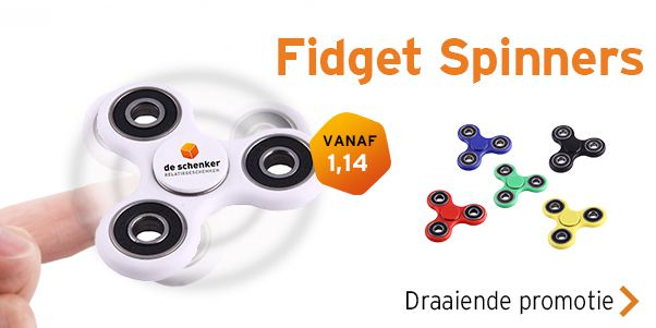 Fidget spinners bedrukken