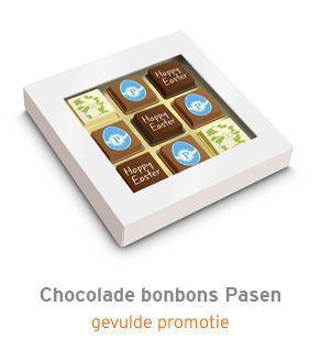 Chocolade bonbons Pasen