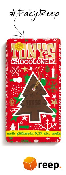 Tony Chocolonely kerstchocolade