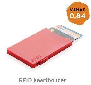 RFID kaarthouder met 5 kaarten bedrukken