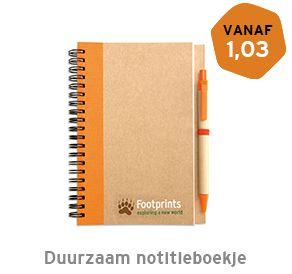 Duurzaam notitieboekje