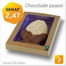 Chocolade paasei bestellen