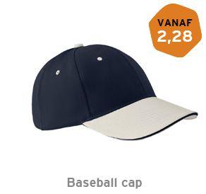 Baseball cap Katoen bedrukken