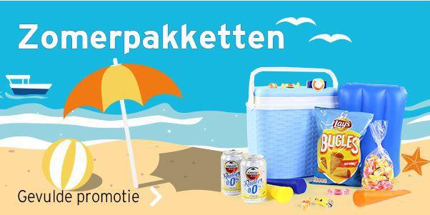 Bekijk ons assortiment zomerpakketten