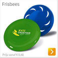 Frisbees bedrukken met logo