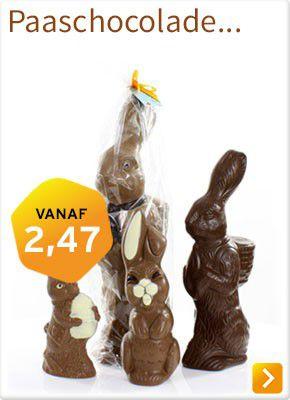 Paaschocolade bestellen